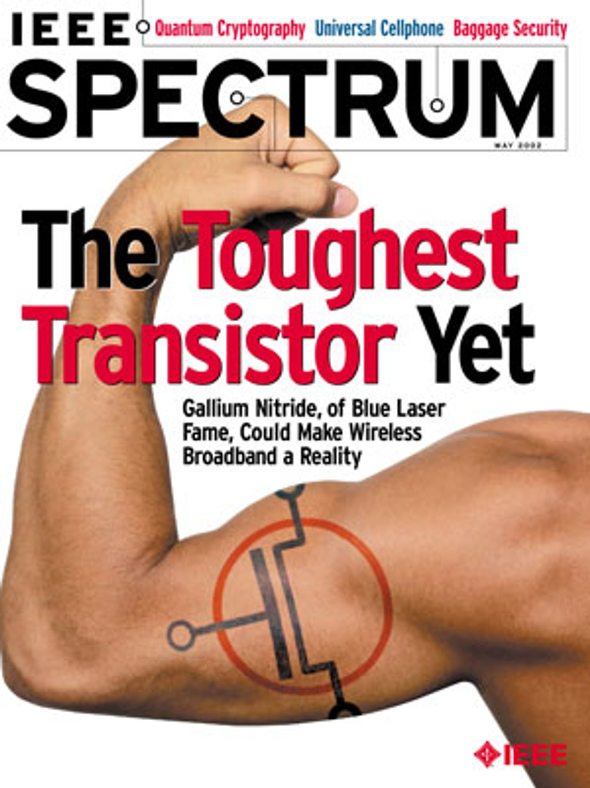 Image of IEEE Spectrum Magazine Cover.