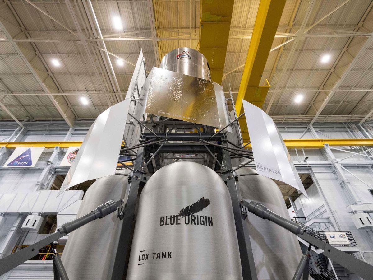 Image of the Blue Origin rover.