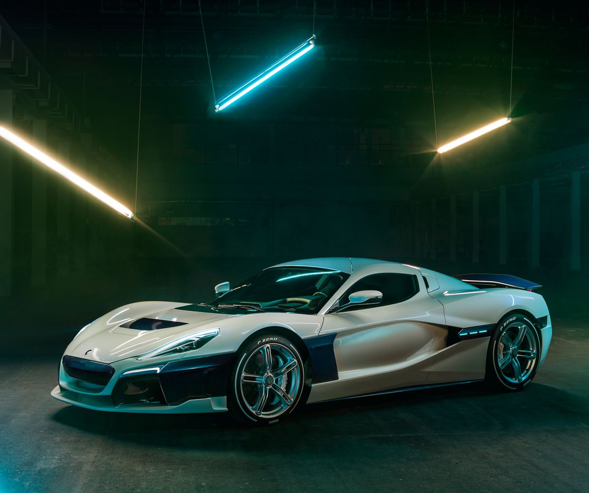 Image of the Electric Hypercar from Rimac, the C Two.