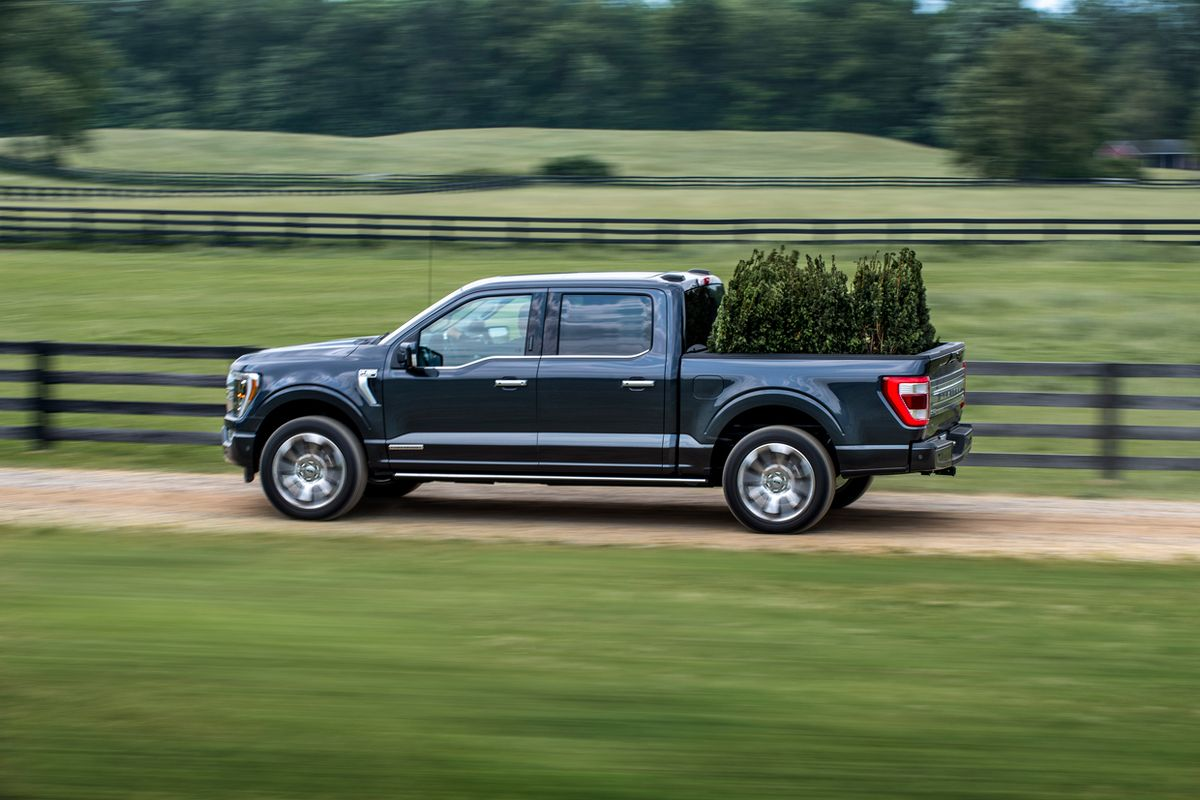 Image of the 2021 Ford F-150.