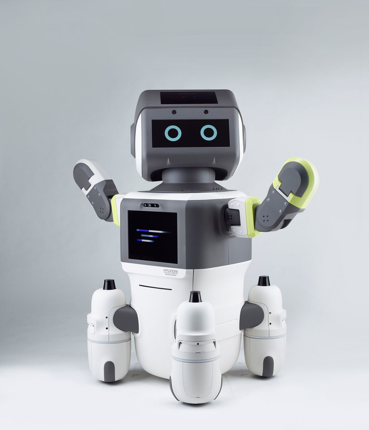 Hyundai Motor Group's Advanced Humanoid Robot DAL-e.