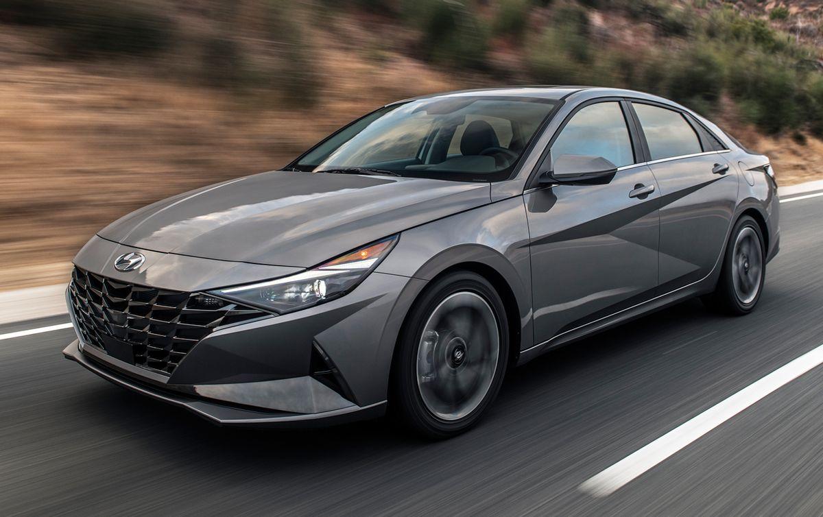 Image of the 2021 Hyundai Elantra