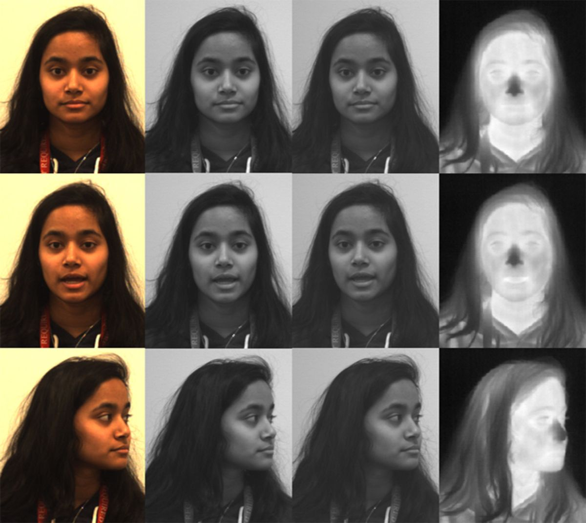 night vision facial recognition