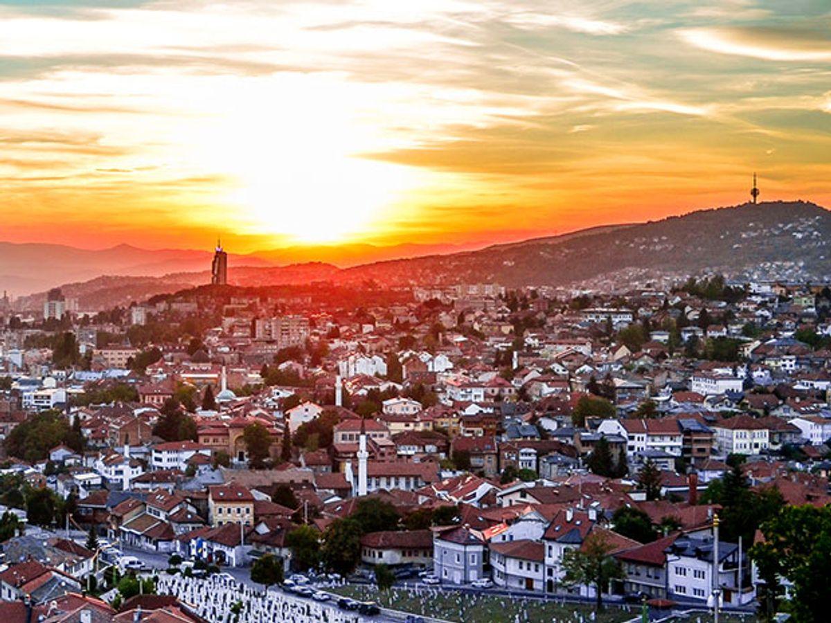 Image of the Bosnian Skyline.