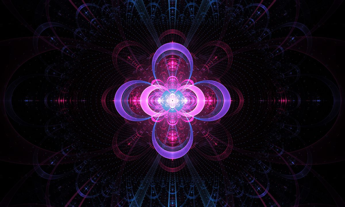 Abstract illustration, nuclear cold fusion