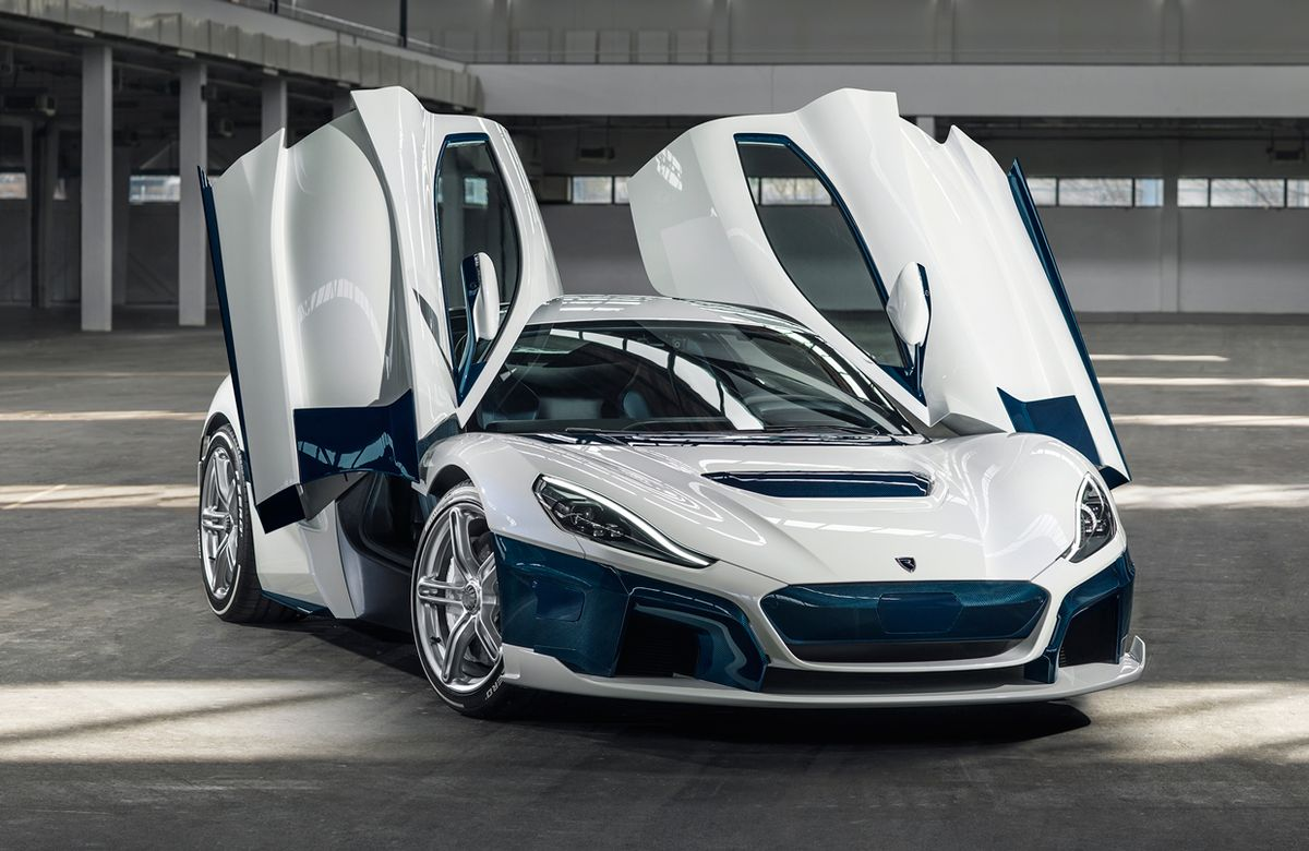 Image of the 2021 Rimac C Two.