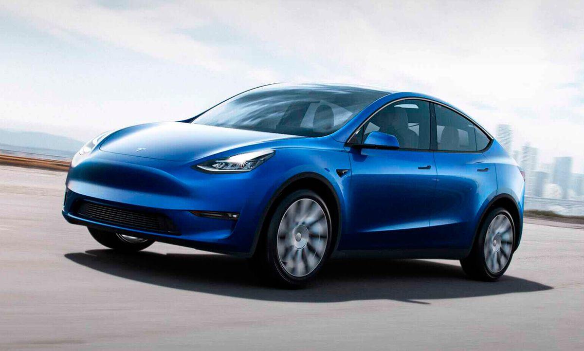 Image of the 2021 Tesla Model Y.
