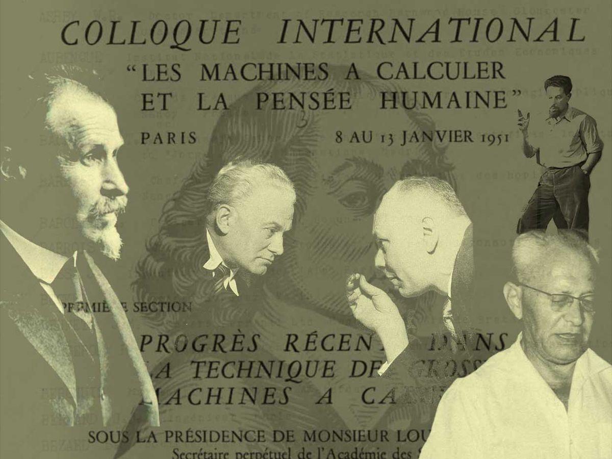 LES MACHINES A CALCULER ET LA PENSEE HUMAINE; 1951