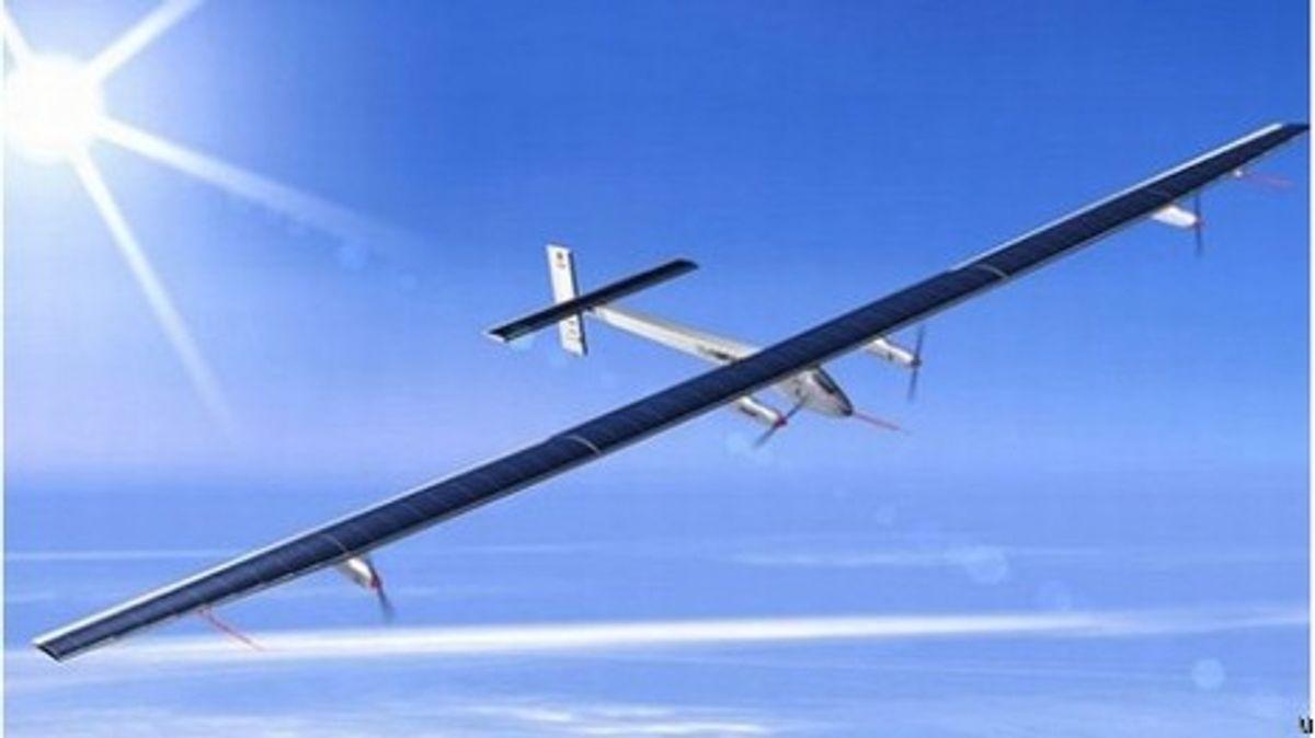 Solar Impulse Concept Plane Unveiled