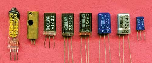 photos of the transistor family tree