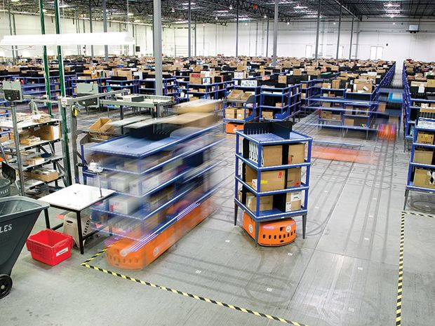 Three Engineers Hundreds Of Robots One Warehouse Ieee