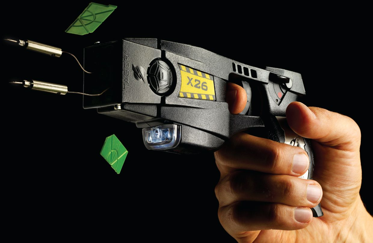 How A Taser Works Ieee Spectrum Circuit Diagram Photo Of