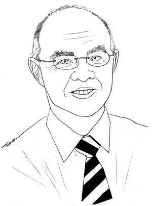 sketch of Martin Sweeting