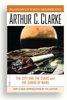 Arthur C. Clarke book cover