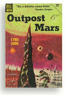 Outpost Mars book cover