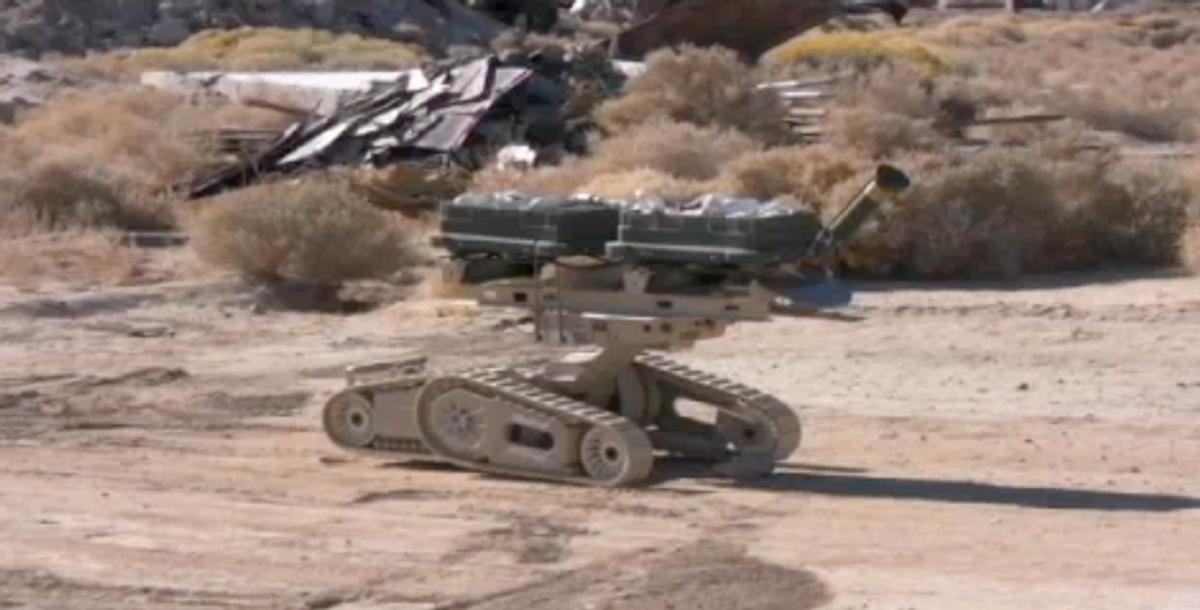 iRobot Demonstrates New Weaponized Robot