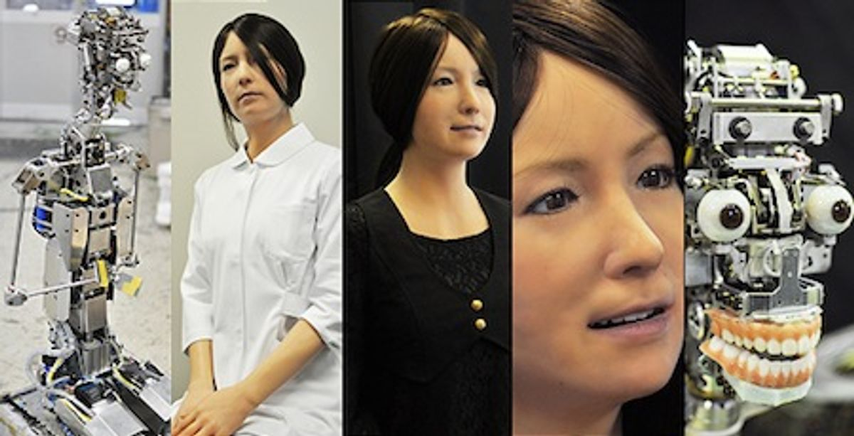 Geminoid F Looks More Realistic Than Ever
