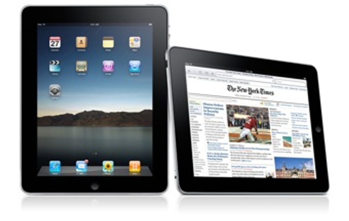 The iPad is Not A Kindle Killer; Blame the Display