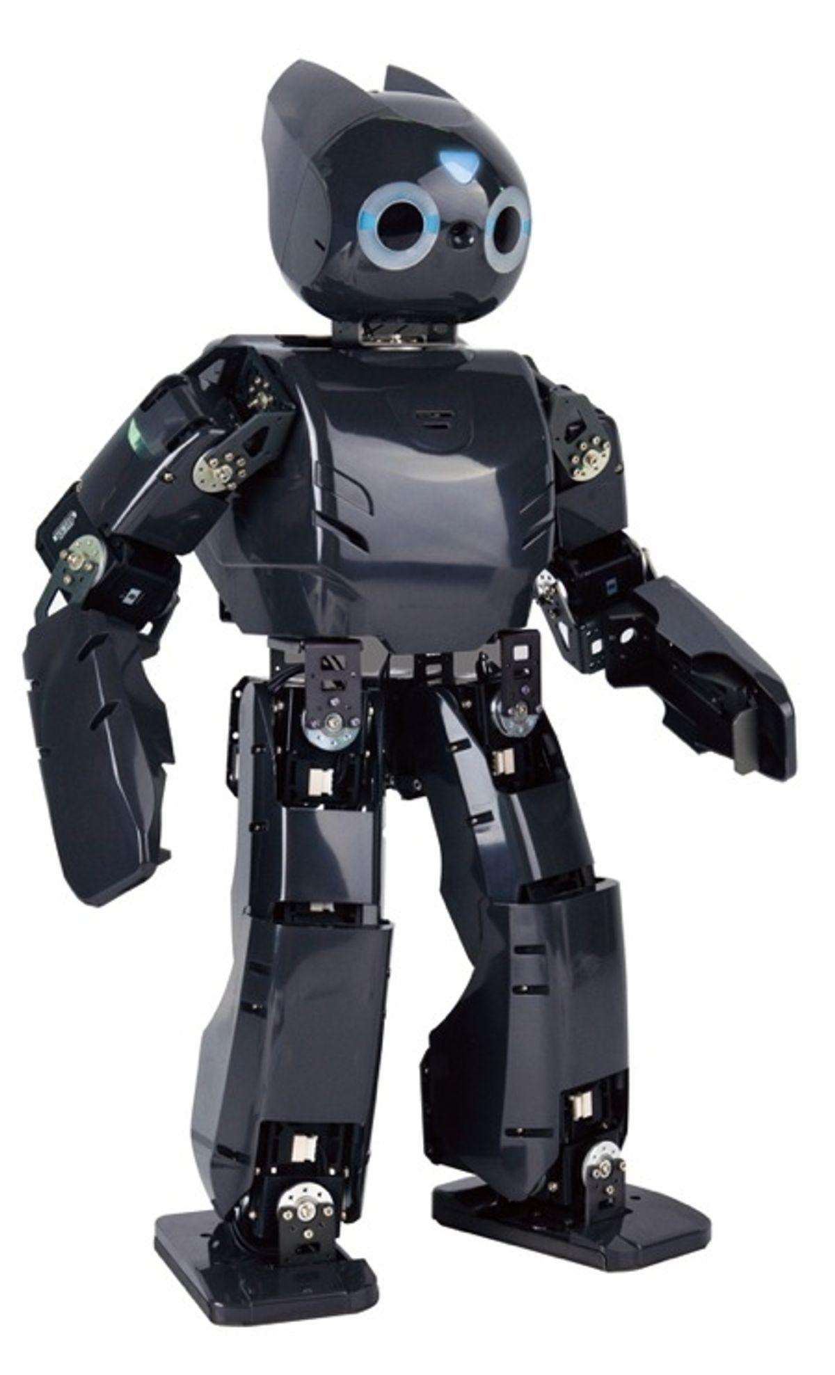 DARwIn-OP Humanoid Robot Demo