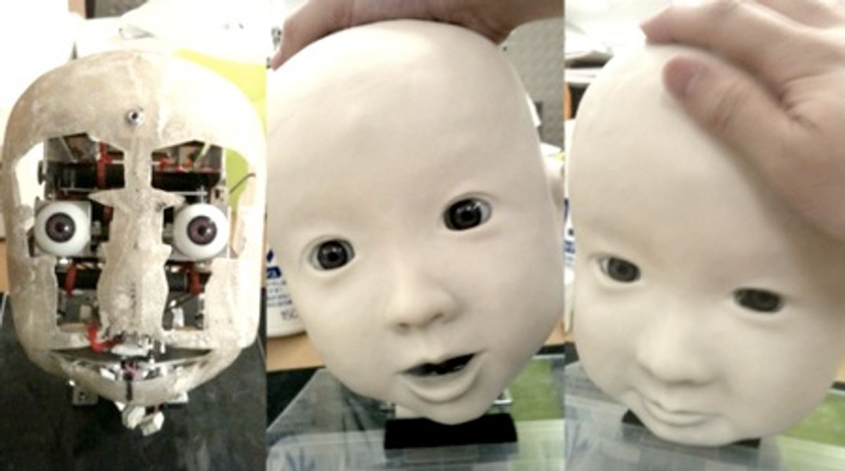 Meet Affetto, a Child Robot With Realistic Facial Expressions