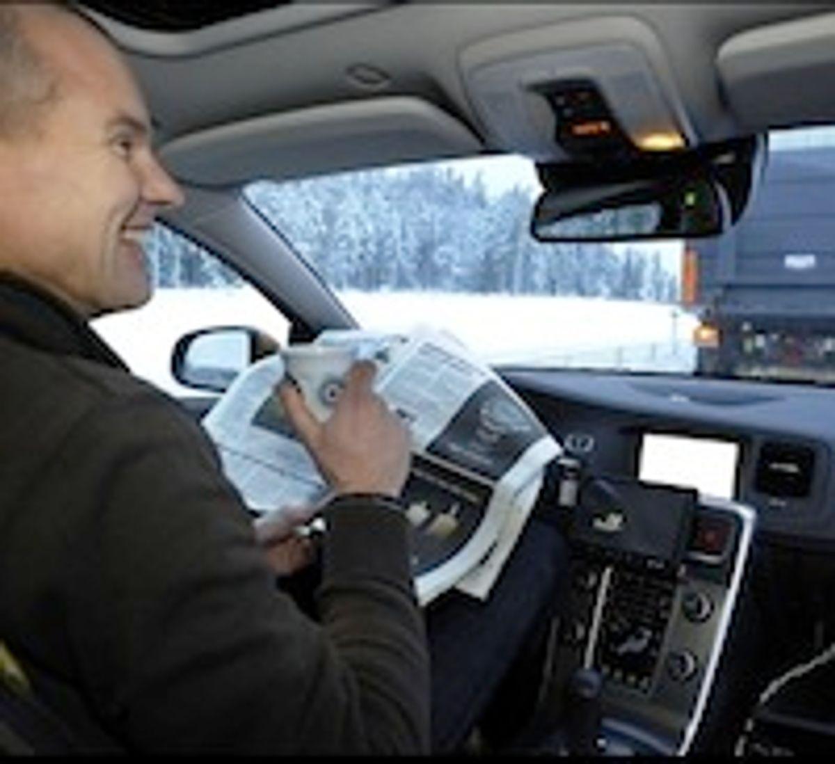 SARTRE: Autonomous car platoons