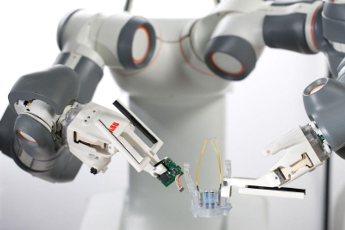 ABB's FRIDA Offers Glimpse of Future Factory Robots