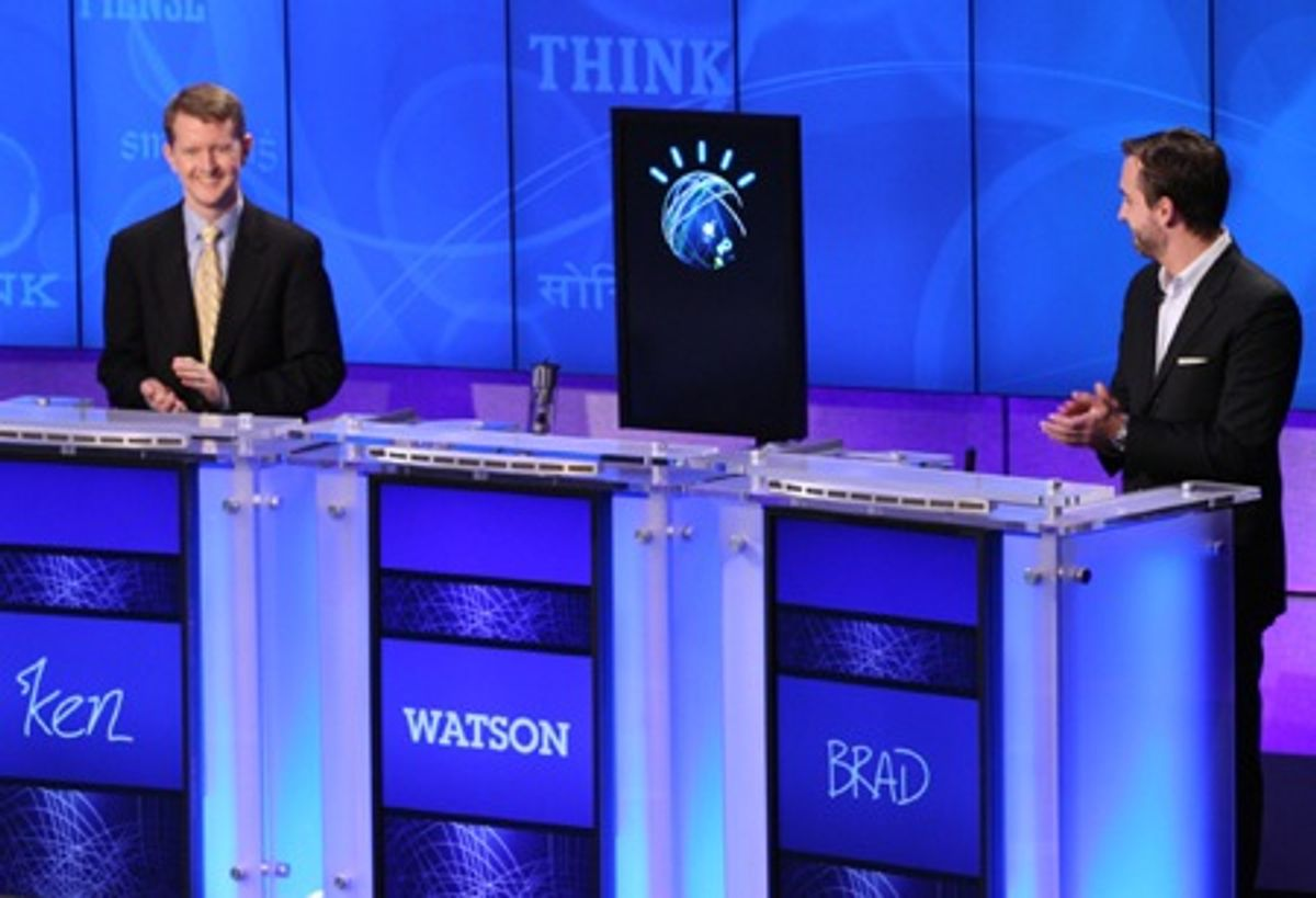 Watson AI Crushes Humans in Second Round of Jeopardy