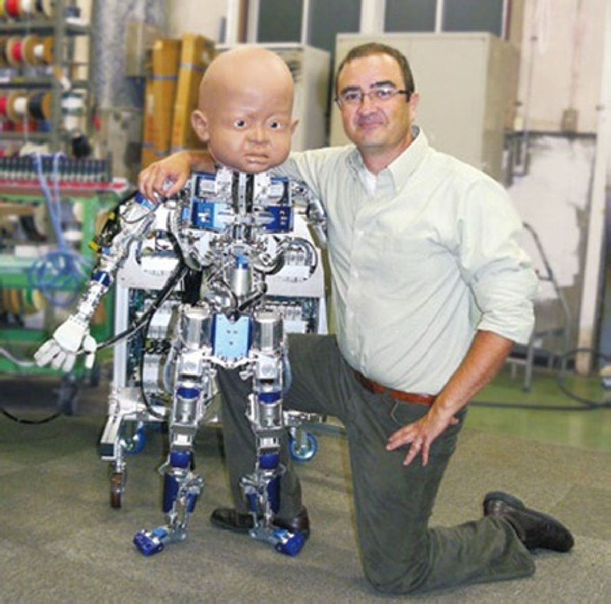 Robot Babies Are Always A Mistake