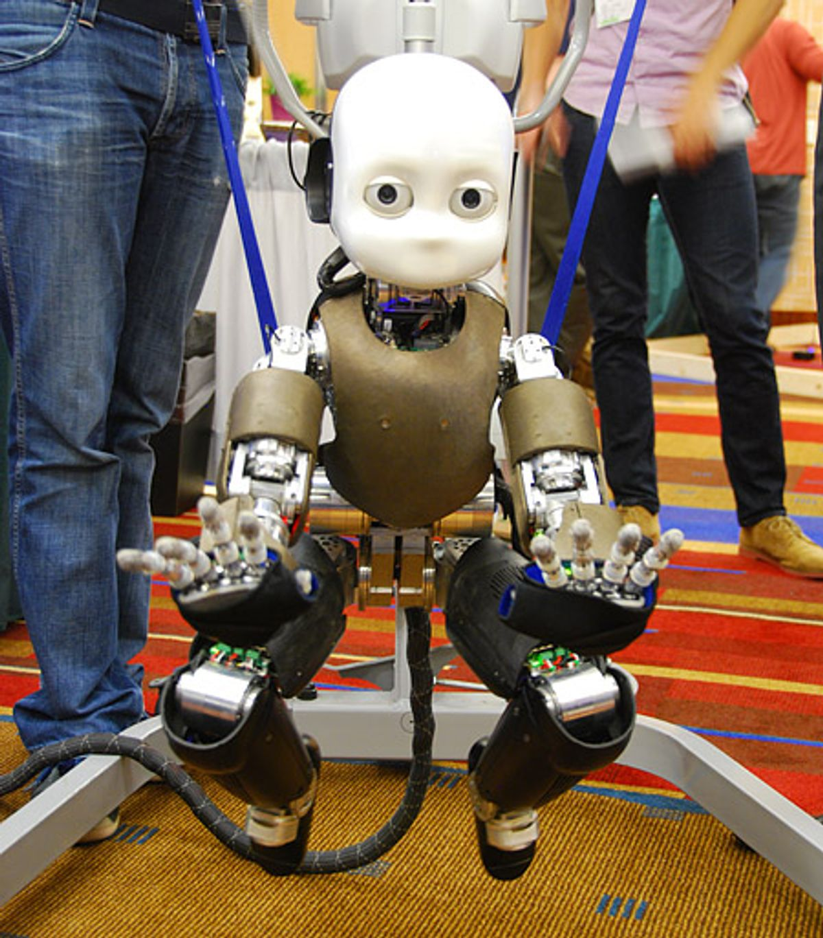 Crawling iCub Is the Robot Baby You Never Wanted