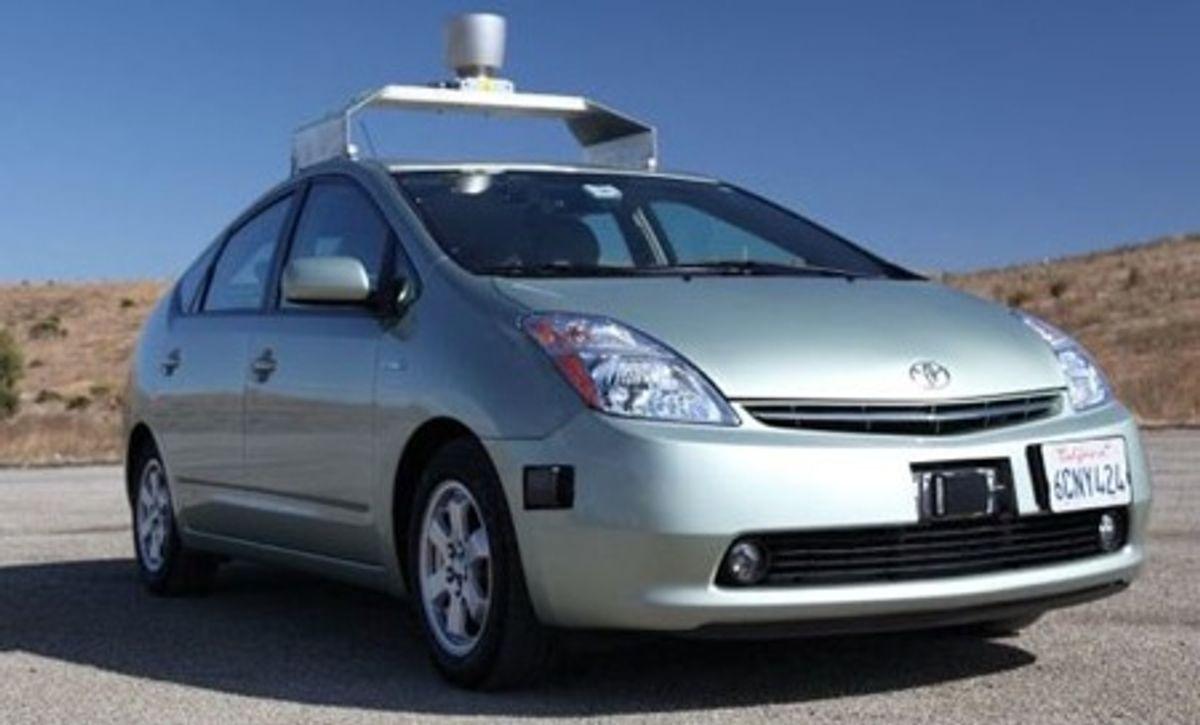 Google's Autonomous Car Takes To The Streets