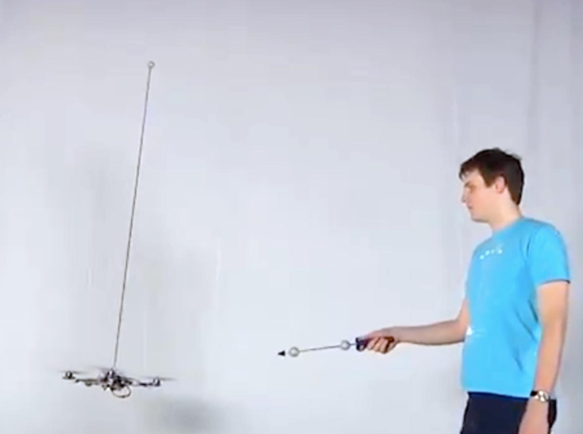 Pendulum-Balancing Quadrotor Learns Some New Tricks