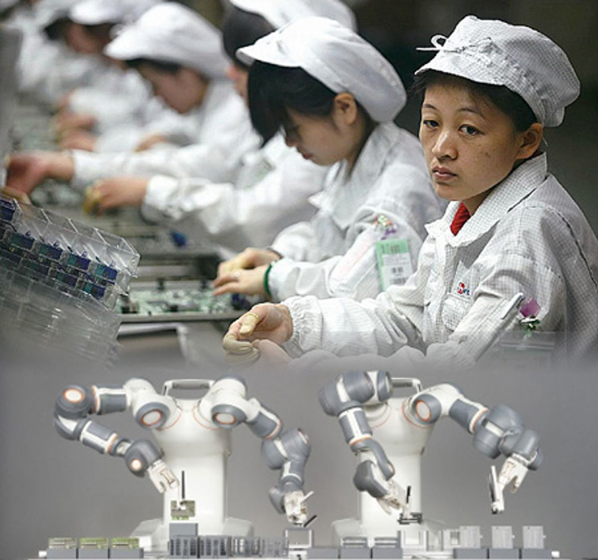 Foxconn To Replace Human Workers With One Million Robots