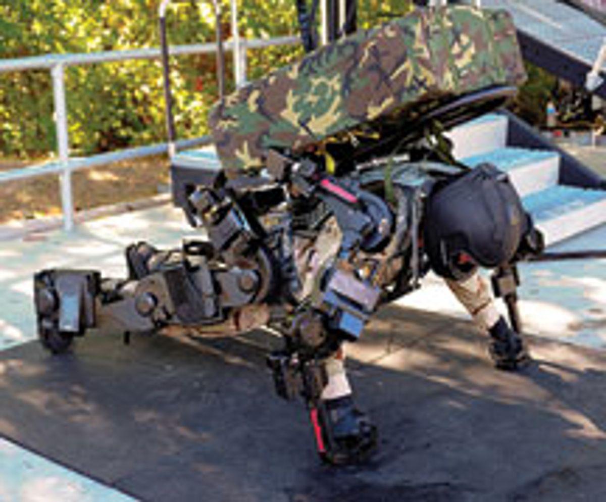 Raytheon Sarcos's Exoskeleton Nears Production