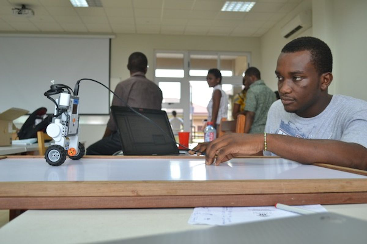 African Project Aims To Innovate in Educational Robotics