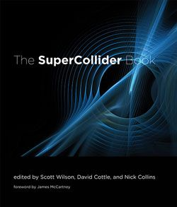 book cover, the super collider
