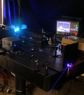 MODEL BUILDING: The authors' lab at Princeton University has shown that both the air-laser and the radar REMPI techniques can detect traces of chemical vapors. Next, the method must be proved to work over a distance of tens of meters.