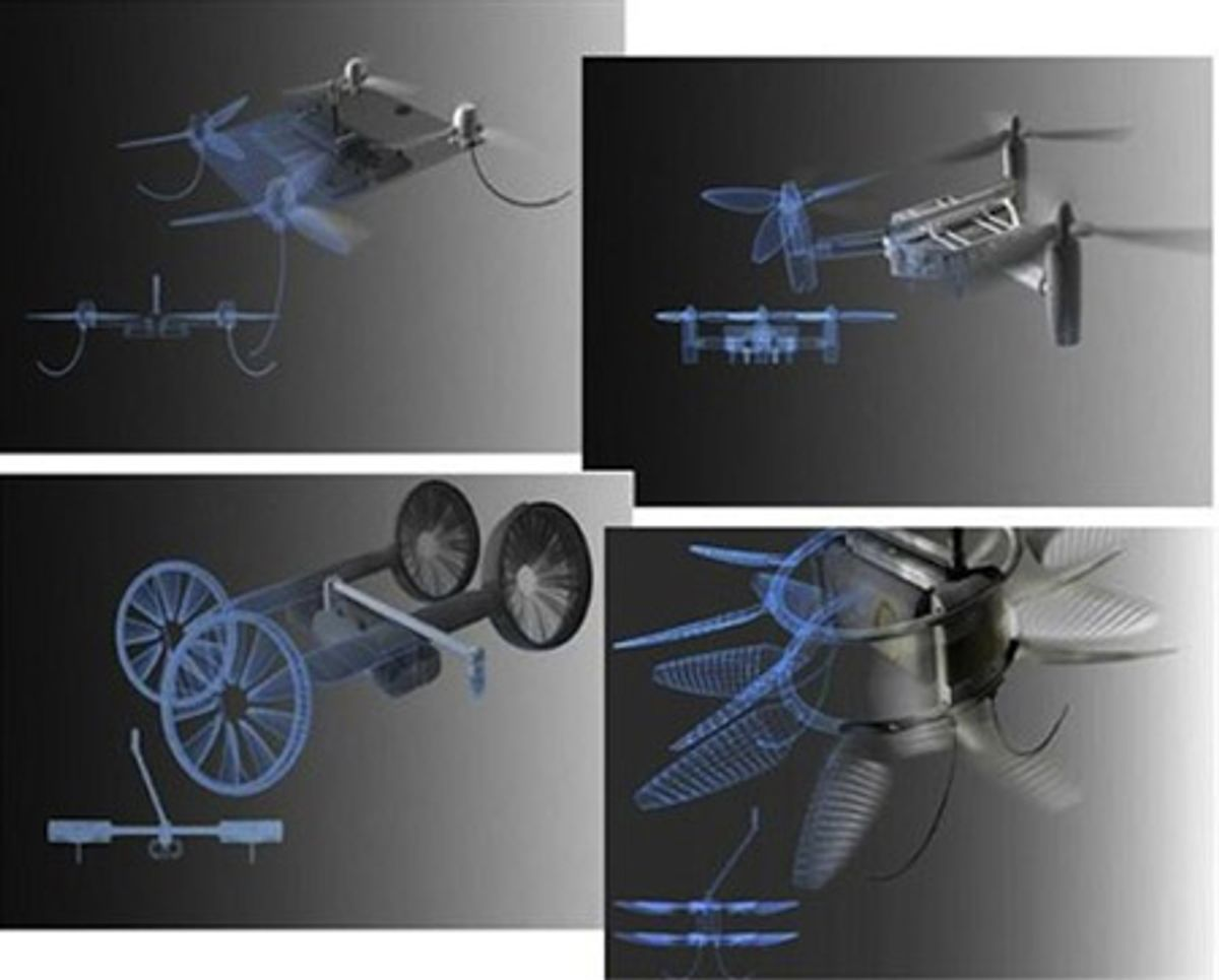 Here's What DARPA Wants to See From Their Crowdsourced UAV