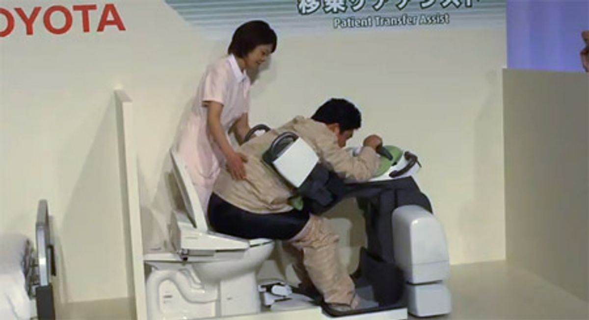 Toyota's Healthcare Robots Are Ready to Help You With Absolutely Everything