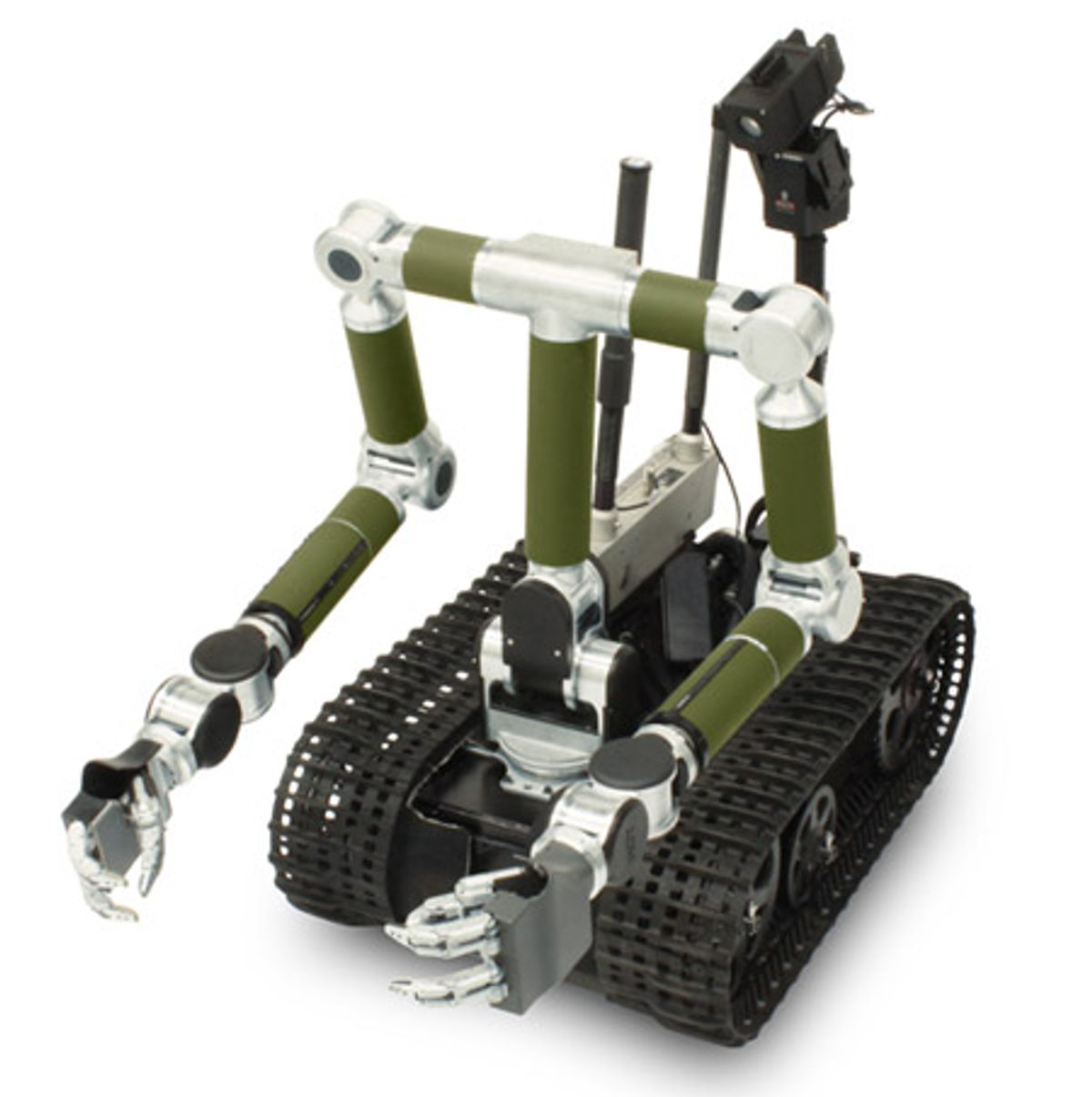 HDT's MK2 Manipulators Can Outfit PackBots with Arms and Hands