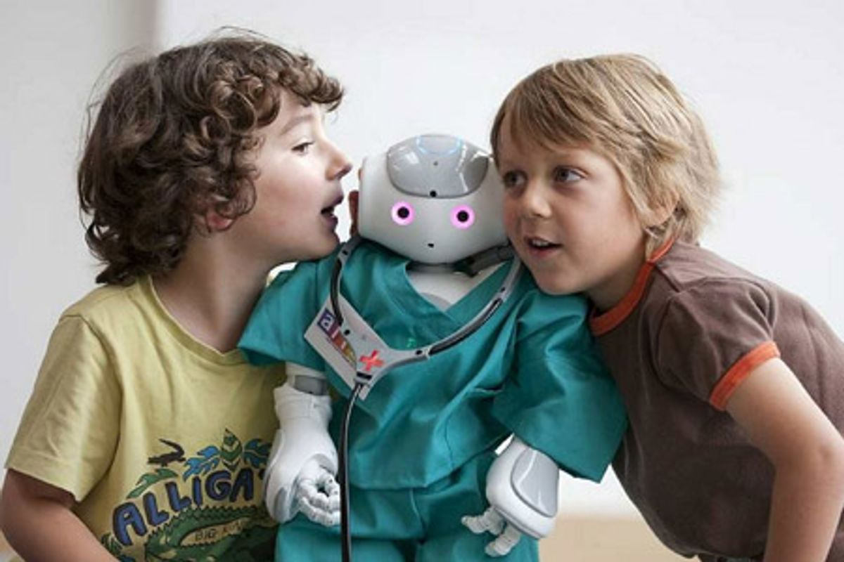 This Is What Kids Want From Robots