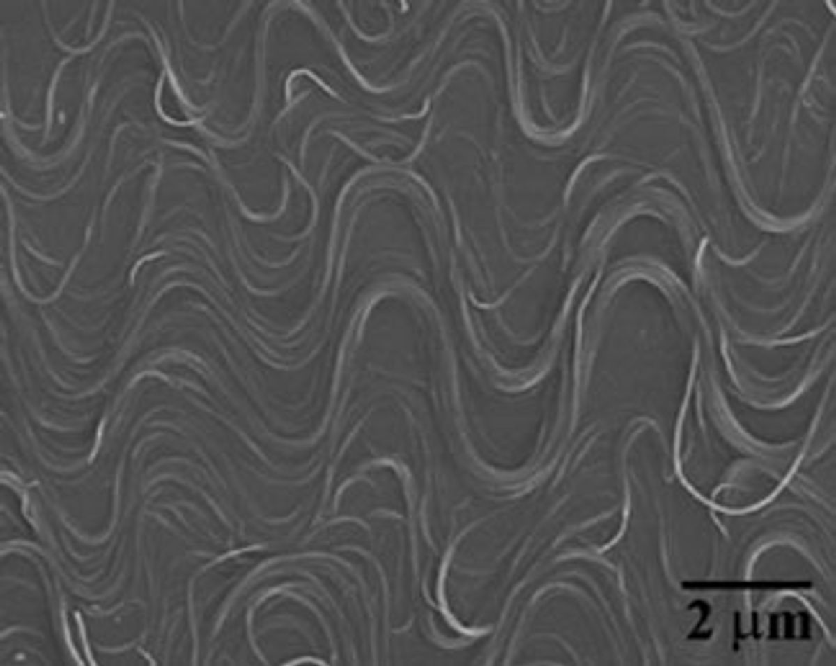 Carbon Nanotubes Bend and Stretch and Still Conduct