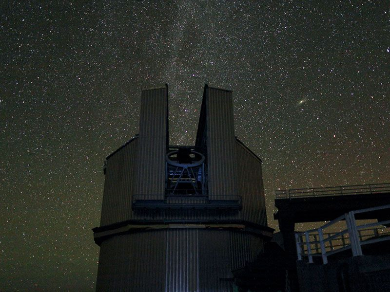 Italy's Telescopio Nazionale Galileo on La Palma