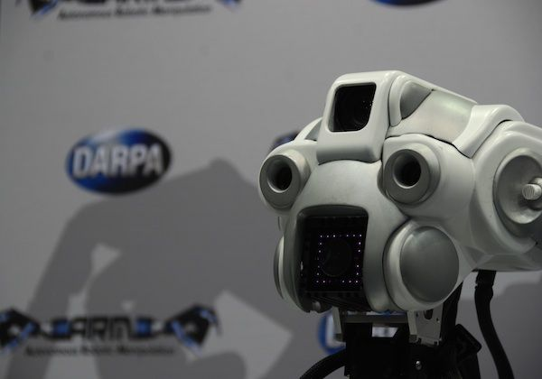 DARPA Arm Robot at ICRA 2012