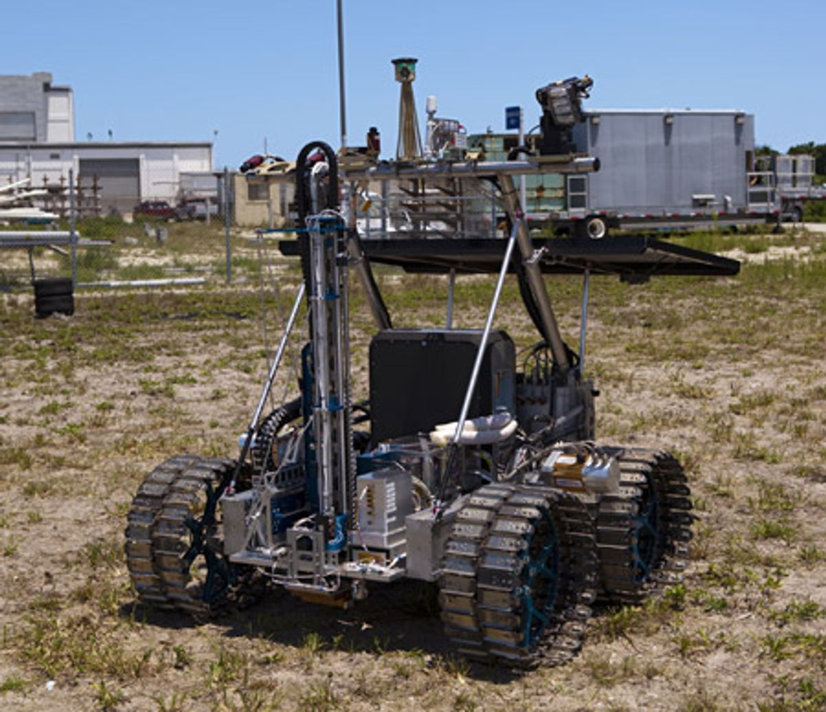 NASA Testing Rover to Prospect for Water on the Moon