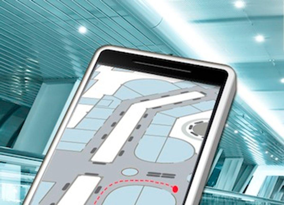 Indoor Navigation Takes Signals And Sensors