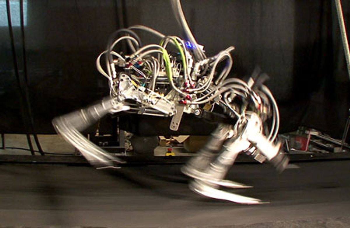 Boston Dynamics' Cheetah Robot Now Faster than Fastest Human