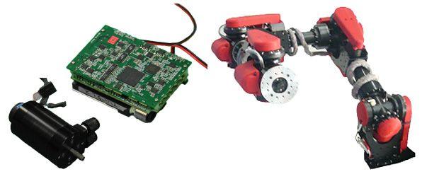SCHAFT robot motor and controller