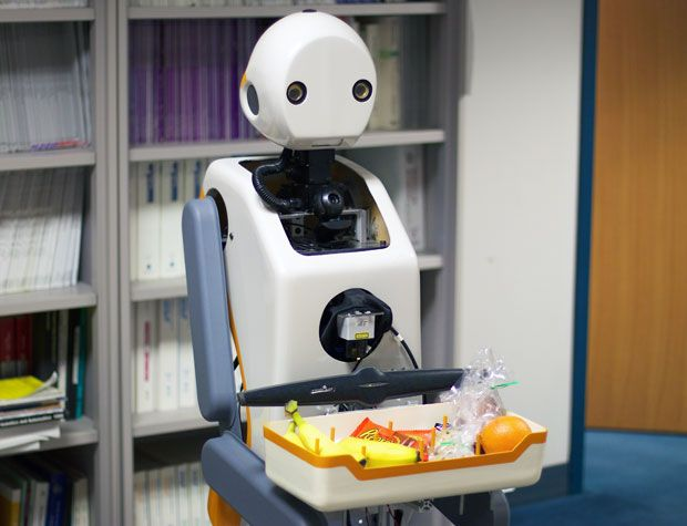 Me Talk Pretty One Day: Experiments with Snackbot and others show that how robots communicate makes a big difference in human attitudes toward them.