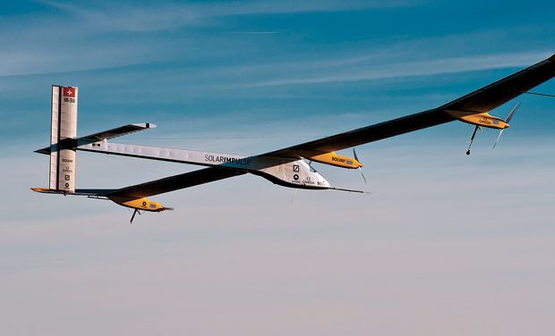 Solar Impulse Flying