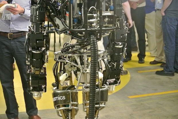 Atlas robot created by Boston Dynamics for DARPA Robotics Challenge